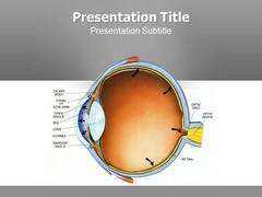 Glaucoma Symptoms PowerPoint Background