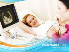 Abdominal Ultrasound PowerPoint Background