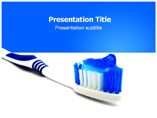 Toothbrush PowerPoint Slide