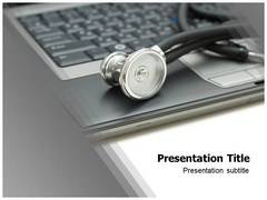 Medical Database PowerPoint Background