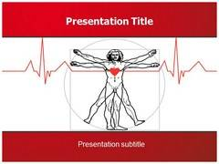 Vitruvian Man PowerPoint Background