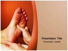 Foot Massage Template PowerPoint