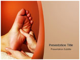 Foot Massage Template PowerPoint