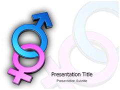 Gender Symbol PowerPoint Slides