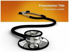 Phonendoscope PowerPoint Background