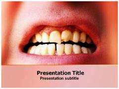 Anterior Teeth PowerPoint Backgrounds