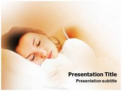 Sleeping Disorder PowerPoint Slides