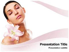 Herbal Cosmetic Template PowerPoint