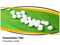 Homeopathy Pills PowerPoint Slide