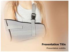 Orthopedic Plaster Template PowerPoint