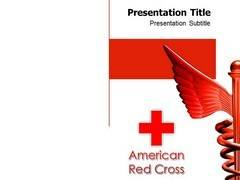 Medical Red Cross PowerPoint Background