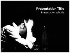 Alcoholic Template PowerPoint