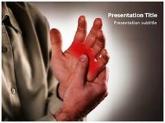 Arthritis In Hands PowerPoint Background