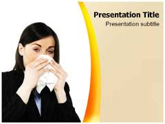 Cold Flu Fever PowerPoint Backgrounds