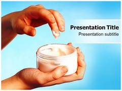 Dermatology Cream Template PowerPoint