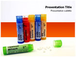 Homeopathic Pills Template PowerPoint