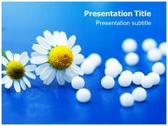 Homeopathic Remedy PowerPoint Background