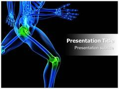 Knee Orthopedic PowerPoint Design