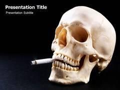 Smoke Template PowerPoint