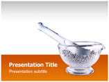 Mortar and Pestle PowerPoint Background