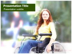 Orthopedic Wheelchair PowerPoint Slides