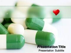 Vitamin Pills PowerPoint Backgrounds