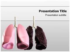 Pneumothorax Signs PowerPoint Background