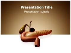 Pancreas Pain Template PowerPoint