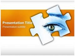 Corneal Degeneration Template PowerPoint