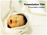 Premature Baby PowerPoint Backgrounds