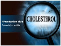 Cholesterol Levels PowerPoint Slide