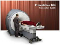 MRI Machine PowerPoint Backgrounds