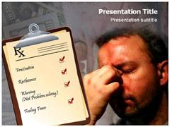 Stress PowerPoint Backgrounds