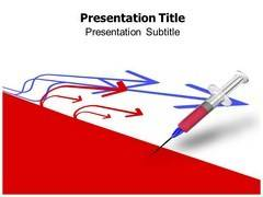 Syringe Needle Template PowerPoint