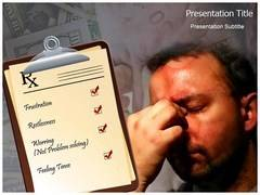 Stress Causes Template PowerPoint
