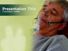 Oxygen Mask PowerPoint Background