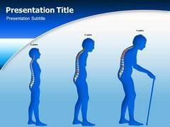Spinal Pain Template PowerPoint