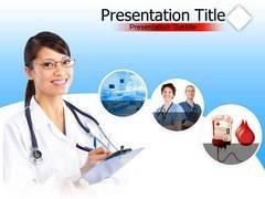 Hospital Nurse PowerPoint Backgrounds
