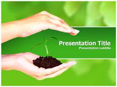 Leaf Template PowerPoint