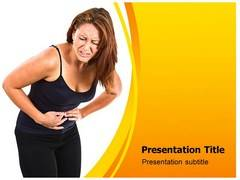 Pelvic Pain Template PowerPoint