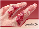 Bleeding PowerPoint Background