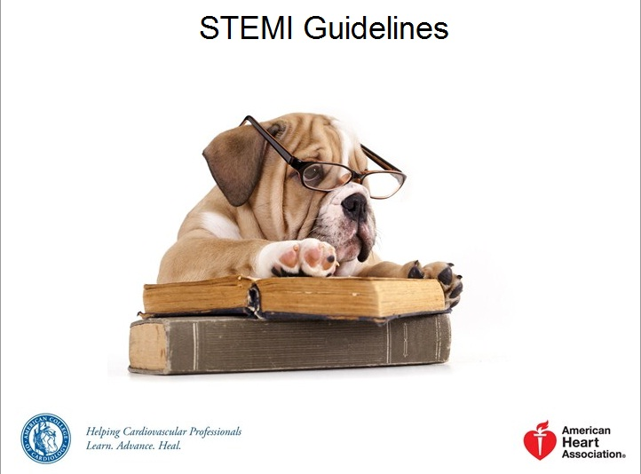 STEMI Guidelines PowerPoint Template