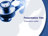 Acoustic Stethoscope PowerPoint Slides