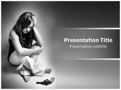 Depression Symptoms PowerPoint Slides