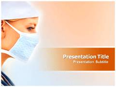 Medical Mask PowerPoint Slides