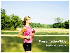 Running PowerPoint Theme