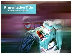 Medical Emergency PowerPoint Background