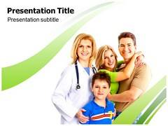 Family Health Clinic PowerPoint Slides