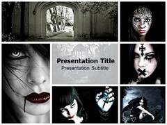 Gothic PowerPoint Backgrounds