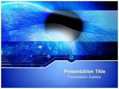 Cornea Template PowerPoint